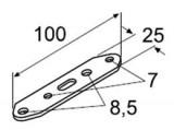 Plech s otvormi Webasto 10ks