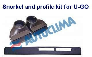 Výdych a profil sada na prenosnú klimatizáciu Autoclima