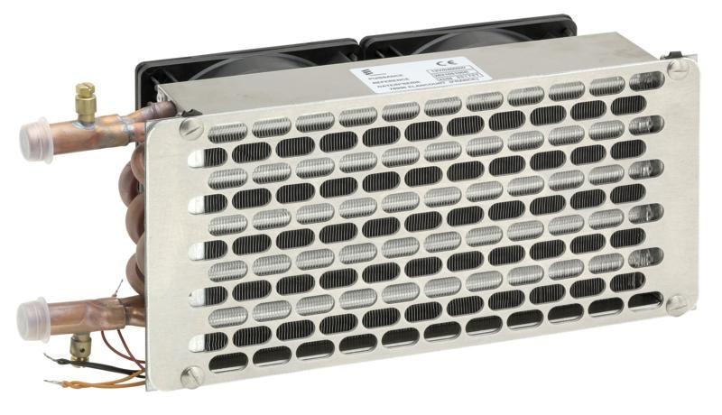 Vodný výmenník Helios 4000 / 24V s dvojrýchlostným ventilátorom 222282105200 Eberspächer