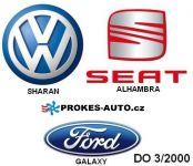 Rozširovacia sada D3WZ VW, Ford, Seat 1,9tdi vrátane ovládača