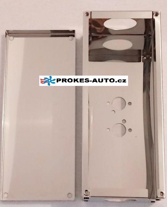 Ochranný kryt pre vzduchové kúrenie 4kW nerez