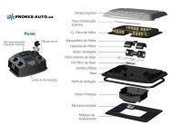 Resfriar ochladzovač S6 24V s LED podsvietením