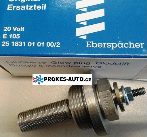 Žhaviaca sviečka E105 D1LC / D3LC Compact / D5LC / D8LC / D5 24V 251831010100 Eberspächer
