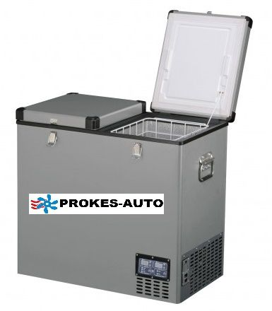 Indel B TB118DD Steel 118L 12/24/230V -18°C kompresorová autolednička