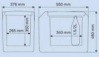 Waeco TropiCool TC 35 12/24/230V Chladiací termoelektrický box TC-35FL-AC / 9105302110