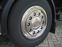 """Zadné pokrievka SportsLine Standard Universal na oceľové kolesá 22.5"""""""