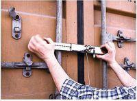 Zabezpečenie dverí návesu 34 - 48 cm
