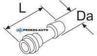 Pripojenie palivovej hadice 6mm