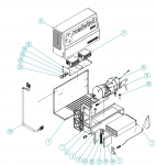 Riadiaca jednotka / modul kompresora pre Roadwind 3000 Back