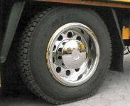 """Zadné pokrievky na kolesá hlboká na disky 22,5 """""""