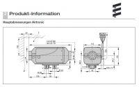 teplovzdušné kúrenie v sade Airtronic D2 12V 252069050000 + zástavbová sada EasyStart T Eberspächer