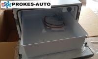 Indel B TB36AM 12/24V 36L -4°C Renault DAF Scania VOLVO MAN MB Vstavaná kompresorová autochladnička