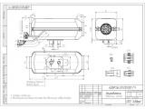 Kúrenie Planar 44D Diesel 4kW 24V výškový set vrátane externej nádrže 7,5L