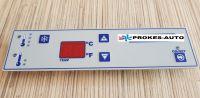 Ovládací dotykový panel A/C Dirna Compact 24V 1,6 s maticami