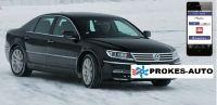 Webasto Prestavbová sada VW Phaeton CLIMATRONIC vrátane ovládania mobilom