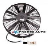Ventilátor kondenzátora univerzálny sací priemer 280 mm 24V pre klimatizáciu