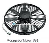 Axiálny ventilátor sacia Ø 385mm 12V GENERAL CAB 90050371 / OE VA18-AP71/LL-86A / VA18-AP70/LL-41A GENERAL CAB ITALY
