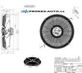 ZIEHL-ABEGG ventilátor sacia 910 mm 400V 6 pólový 209589