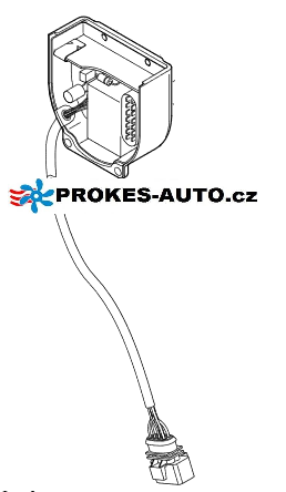 Riadiaca jednotka B5WS 12V MPV VW Sharan, Alhambra 225201020000 / 22 5201 02 00 00 0 D Eberspächer