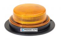 Maják TRUCK-LITE LED na magnet - oranžový