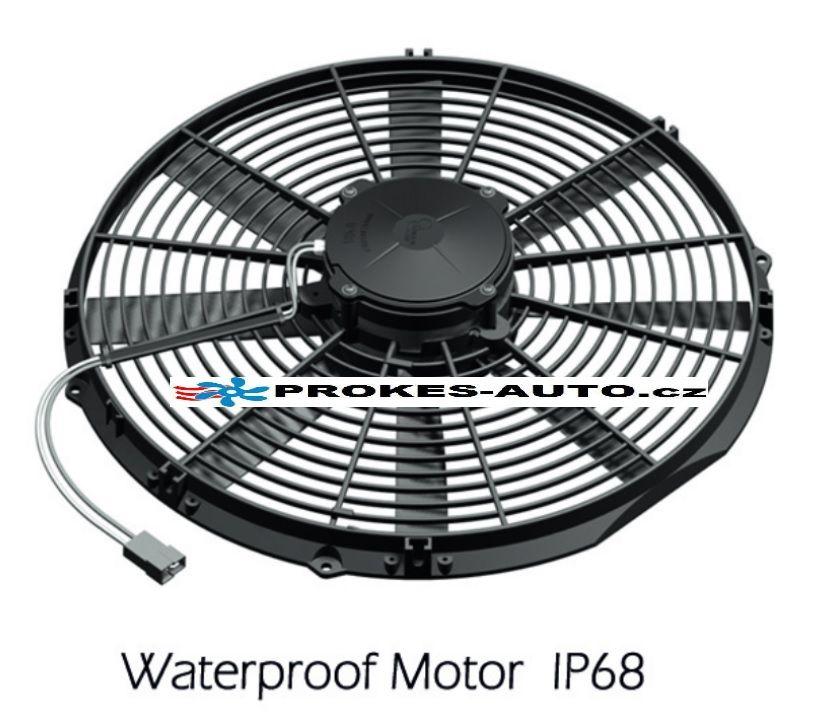 Axiálny ventilátor tlačný Ø 385mm 24V GENERAL CAB 90050468 / OE VA18-BP70/LL-86S / VA18-BP70/LL-41S GENERAL CAB ITALY