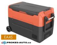 Eurgeen EA45 kompresorová autochladnička 45L 12/24V / 100/240V +10 to -20ºC dvojzónová