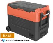 Eurgeen EA55 kompresorová autochladnička 55L 12/24V / 100/240V +10 to -20ºC dvojzónová