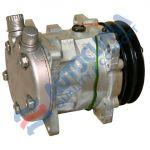 UNI kompresor 24V Sanden 5H09 remenice 125mm 2GA pripojenie OR Vertikálne