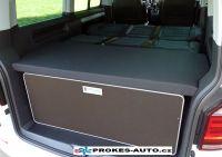 Komfortná podložka pre kempingový box Multivan + California Beach