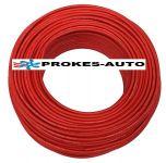 Solárne kábel medený 1x4mm2 - červený