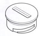 Kryt batérie na ovládač T91 9024567 / 9016157 Webasto